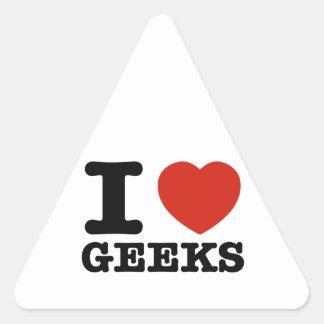 I love my geeks stickers