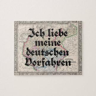I love My German Ancestors | Custom Puzzle
