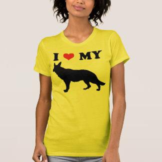 I Love My German Shephard T-Shirt