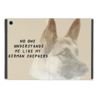 I Love My German Shepherd iPad Mini Cover
