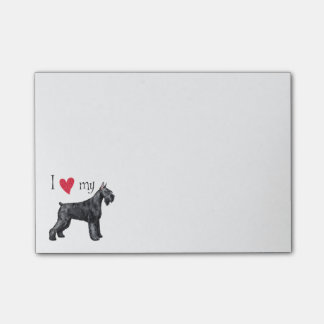 I Love my Giant Schnauzer Post-it Notes