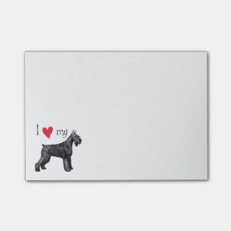 I Love my Giant Schnauzer Post-it® Notes