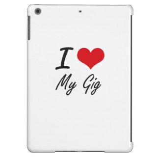 I Love My Gig iPad Air Covers