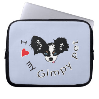 I love my Gimpy Pet Laptop Sleeve
