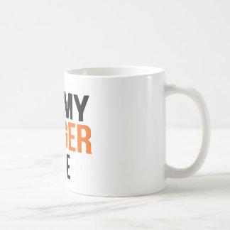 I Love My Ginger Wife Coffee Mug