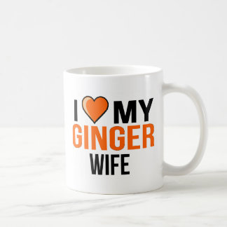 I Love My Ginger Wife Coffee Mug