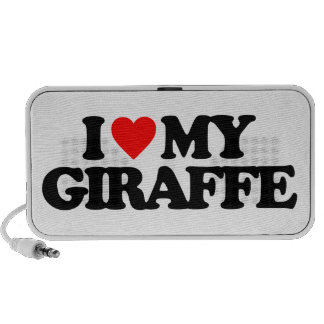 I LOVE MY GIRAFFE SPEAKER SYSTEM