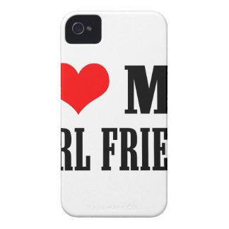 i love my girl friend iPhone 4 case