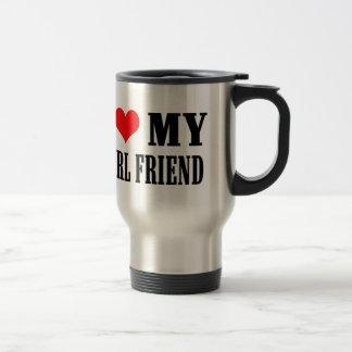 i love my girl friend travel mug