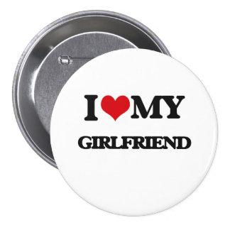 I love my Girlfriend 7.5 Cm Round Badge