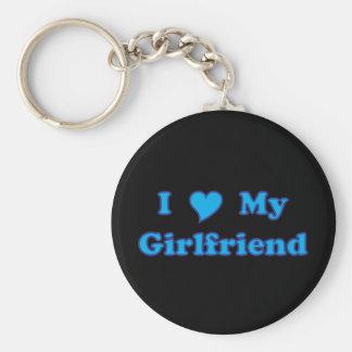 I Love My Girlfriend Key Ring