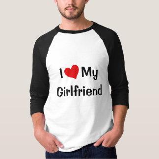 I Love My Girlfriend Raglan Shirt