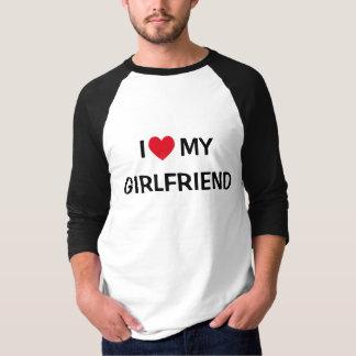 I Love My Girlfriend Raglan Shirts