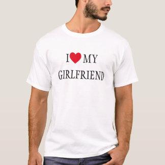 I Love My Girlfriend Raglan T-Shirt