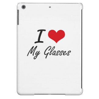I Love My Glasses iPad Air Cover