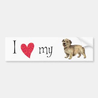 I Love my Glen of Imaal Terrier Bumper Sticker
