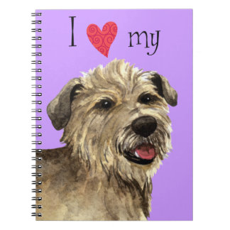 I Love my Glen of Imaal Terrier Notebooks