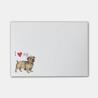 I Love my Glen of Imaal Terrier Post-it® Notes
