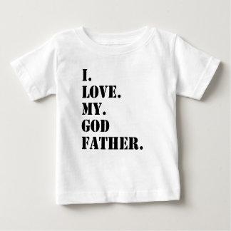 I Love My Godfather Baby T-Shirt