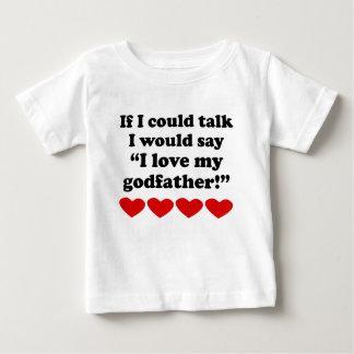 I Love My Godfather Tee Shirts
