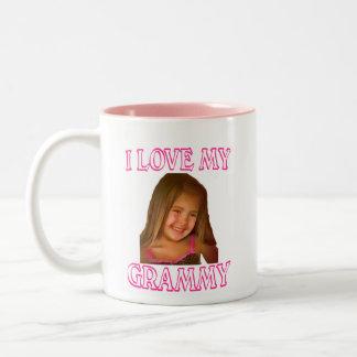 I LOVE MY GRAMMY Two-Tone COFFEE MUG