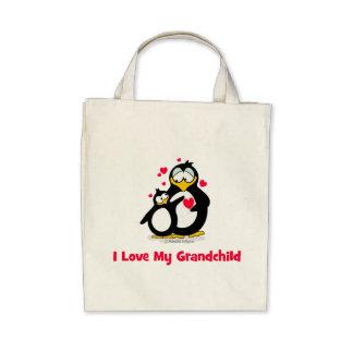 I love my grandchild tote bags
