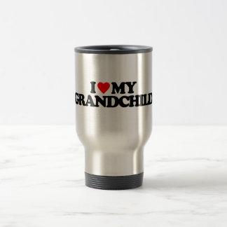 I LOVE MY GRANDCHILD COFFEE MUG