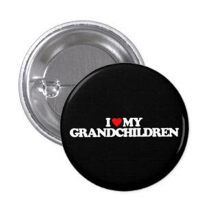 I LOVE MY GRANDCHILDREN 3 CM ROUND BADGE