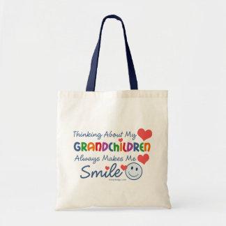 I Love My Grandchildren Budget Tote Bag