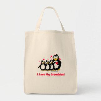 I love my grandkids canvas bags