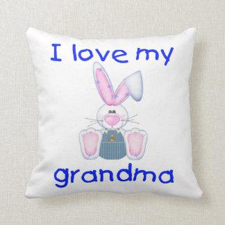 I love my grandma (boy bunny) pillows