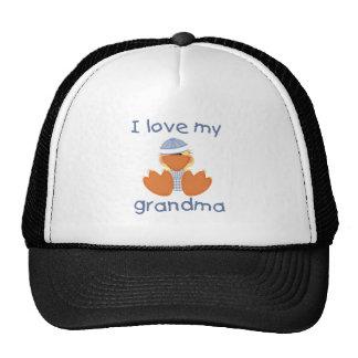 I love my grandma (boy ducky) cap