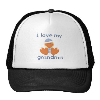 I love my grandma (boy ducky) hats