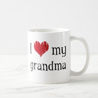 I love my grandma coffee mug