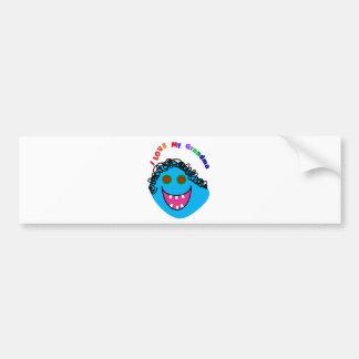 I love my Grandma Gift Ideas Bumper Sticker