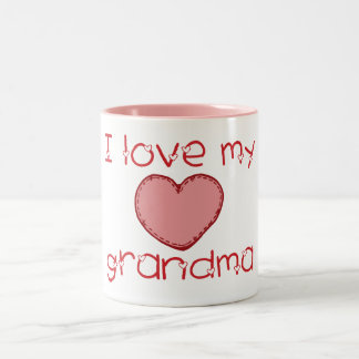 I love my grandma coffee mugs