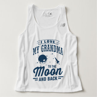 I Love My Grandma To The Moon And Back Singlet