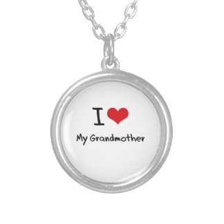 I Love My Grandmother Necklace