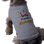 i love my grandpa doggie t shirt