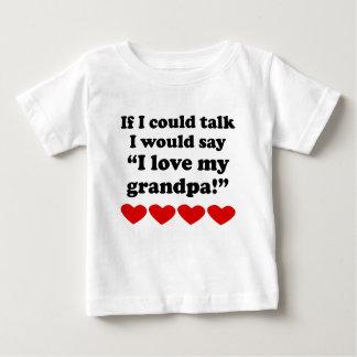 I Love My Grandpa Shirt