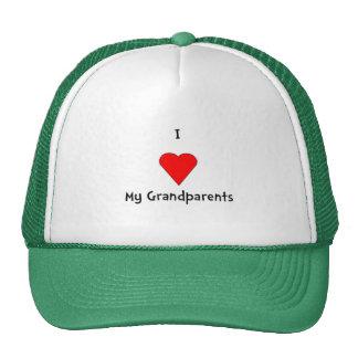 I Love My Grandparents Hat