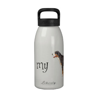 I Love my Greater Swiss Mountain Dog Reusable Water Bottle