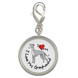I Love My Greyhound Dog