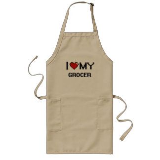 I love my Grocer Long Apron