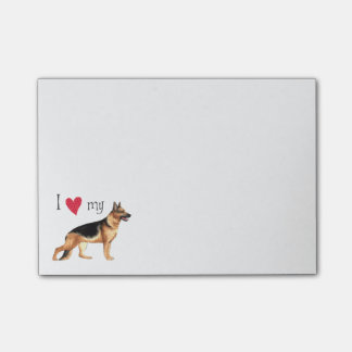 I Love my GSD Post-it® Notes