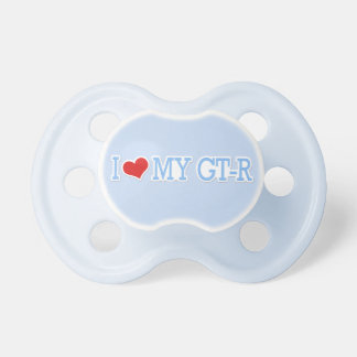 I Love My GTR Baby Pacifiers