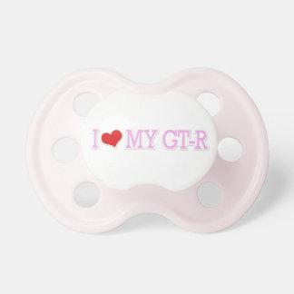 I Love My GTR Pink Pacis Dummy