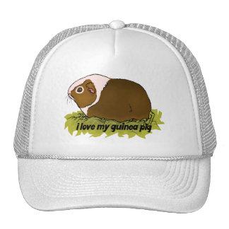 I Love My Guinea Pig Cap