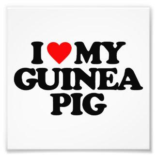I LOVE MY GUINEA PIG PHOTO