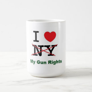 I love my gun rights coffee mug